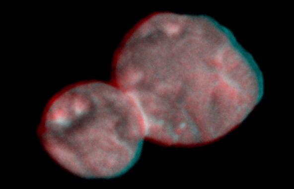 "Kerberos Moon Of Plluto: New Views Of Two-Lobed ""Ultima Thule"""